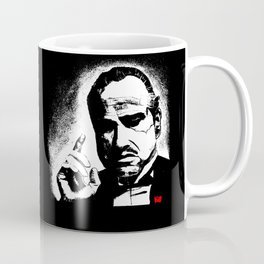 The Godfather Marlon Brando Coffee Mug