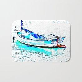 Aqua Boat Bath Mat