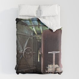 Abandoned Lonaconing Silk Mill Comforters