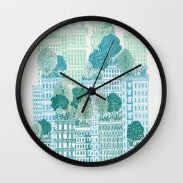 Juniper - A Garden City Wall Clock
