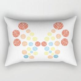 Vivillon Ocean Form Rectangular Pillow