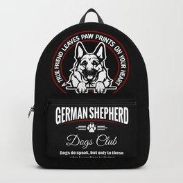 German Shepherd Can Speak. Backpack