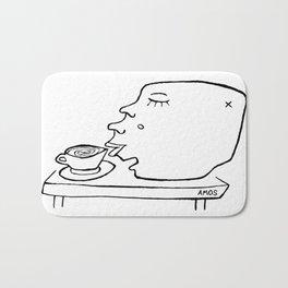 Coffee Head Bath Mat
