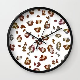 Light Leopard Wall Clock
