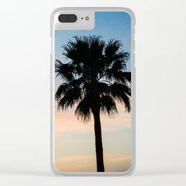 Anocheciendo Clear iPhone Case