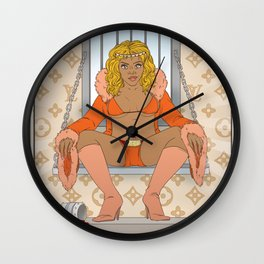 Queen of Cups - Lil Kim Wall Clock