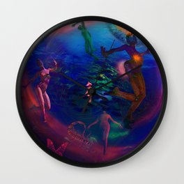 Ecology Dancer Wall Clock