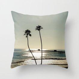 San Clemente Sunset Throw Pillow