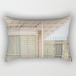 All in Shades of White -  Chicago Architecture Photography Rectangular Pillow