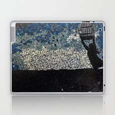 Free Bird  - Glass Mosaic Silhouette Laptop & iPad Skin