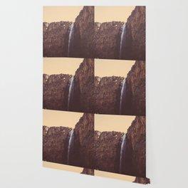 High Desert Waterfall Wallpaper