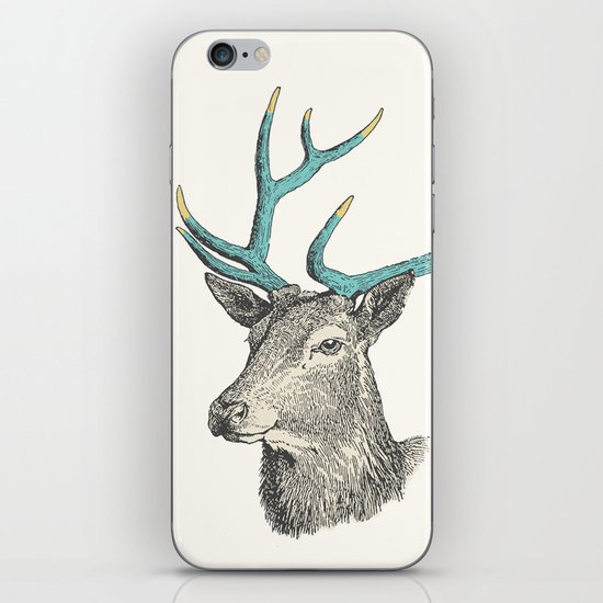 Party Animal - Deer iPhone & iPod Skin