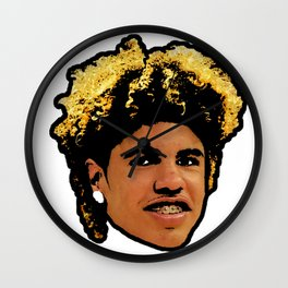 LaMelo Ball Face art Wall Clock