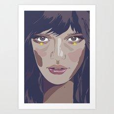 I am and I am not (Vacancy Zine) Art Print