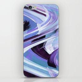 Wavy Blue iPhone Skin