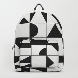 My Favorite Geometric Patterns No.10 - White Backpack