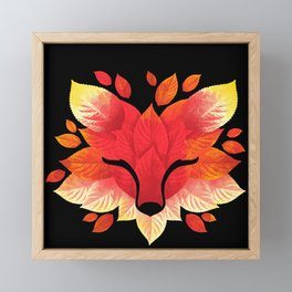 fox Framed Mini Art Print