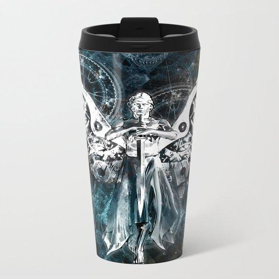Clockwork Angel  Metal Travel Mug