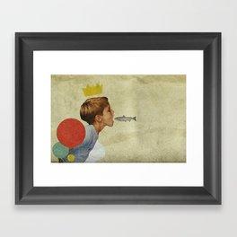 E.A.T | Collage Framed Art Print