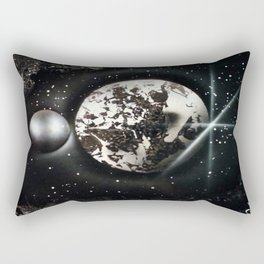 The Other Side of the MOON Rectangular Pillow