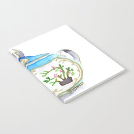 Sugar Bowl Water Color Notebook