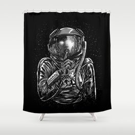 Secrets of Space 2017 Shower Curtain