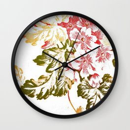 Florality Wall Clock
