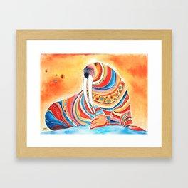 Tiger Of The North Framed Art Print