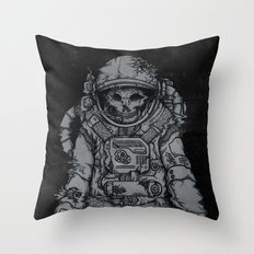 forgotten astronaut Throw Pillow