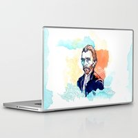 van gogh Laptop & iPad Skins featuring Van Gogh by Jon Cain