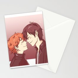 kagehina -pink Stationery Cards