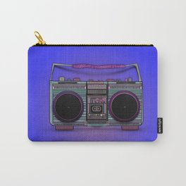 colorful boombox Carry-All Pouch