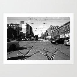 Off Queen - Spadina Avenue - North Art Print