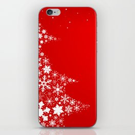 Red Christmas iPhone Skin