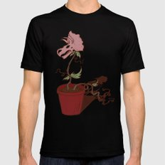 Nepenthes Ceratopsidae MEDIUM Black Mens Fitted Tee