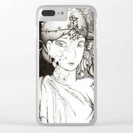 Worries Clear iPhone Case