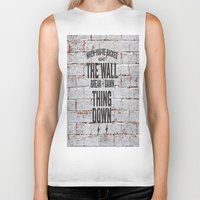 motivational Biker Tanks featuring Motivational quote n. 2 by AnnaF31
