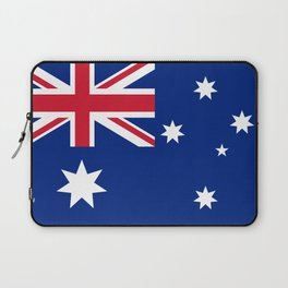 The National flag of Australia, authentic version (color & scale 1:2) Laptop Sleeve