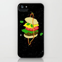 Planetary Discovery 8932: Cheeseburger iPhone Case