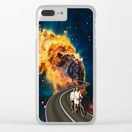 Love Big Bang Clear iPhone Case