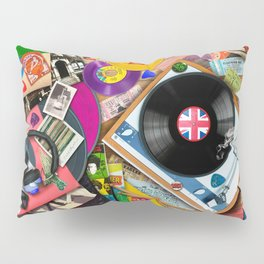 Viva le Vinyl Pillow Sham