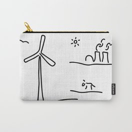new energy environment Carry-All Pouch