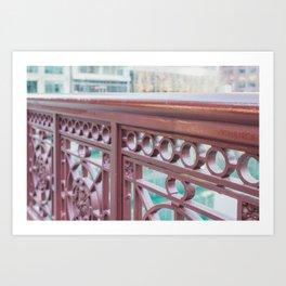 Chicago River Views Art Print