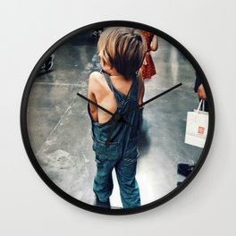 Lost Boy Wall Clock