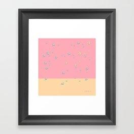 fly away at sundown Framed Art Print