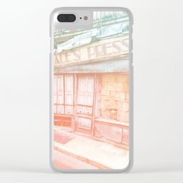 Age Of Information Clear iPhone Case