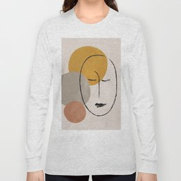Portrait 2 Long Sleeve T-shirt