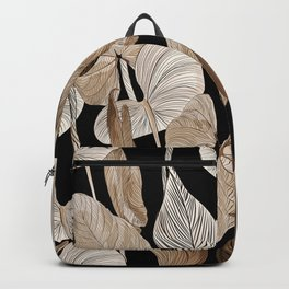 Lush lily - russet Backpack