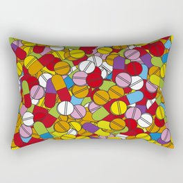 Lots of Pills Rectangular Pillow
