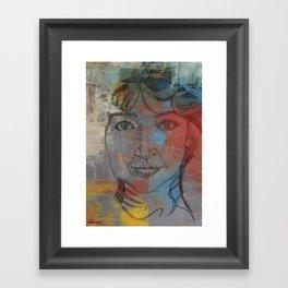 It's me Cathy Framed Art Print
